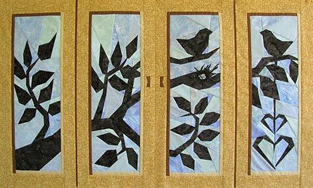 Two Birdies by Teresa Catlett