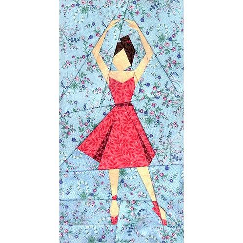 Ballerina Paper-pieced Quilt Pattern by Paper Panache