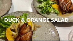 DUCK AND ORANGE SALAD