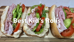 BEST KID'S ROLLS *best sauce ever!*