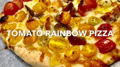 TOMATO RAINBOW PIZZA