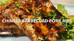 CHINESE BARBECUED PORK RIBS