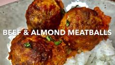 BEEF & ALMOND MEATBALLS