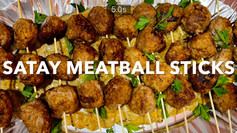 SATAY MEATBALL STICKS