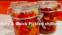 EASY & QUICK PICKLED CHILLIES