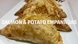 SALMON & POTATO EMPANADAS