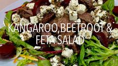 KANGAROO, BEETROOT & FETA SALAD