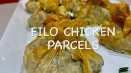 FILO CHICKEN PARCELS