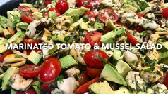 MARINATED TOMATO & MUSSEL SALAD
