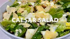 CAESAR SALAD (with no bacon)