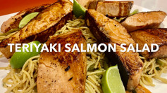 TERIYAKI SALMON SALAD