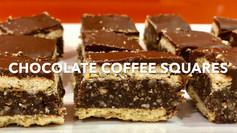 CHOCOLATE COFFEE SQUARES