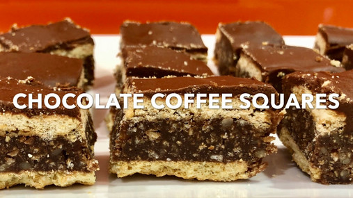 CHOCOLATE COFFEE SQUARES