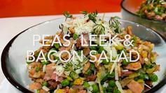 PEAS, LEEK & BACON SALAD