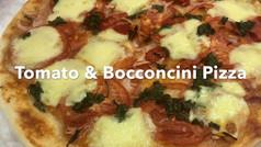 TOMATO & BOCCONCINI PIZZA