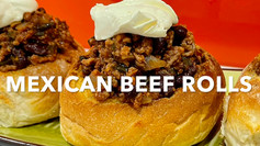 MEXICAN BEEF ROLLS