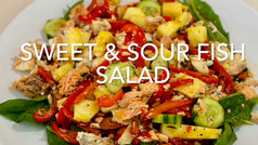 SWEET & SOUR FISH SALAD