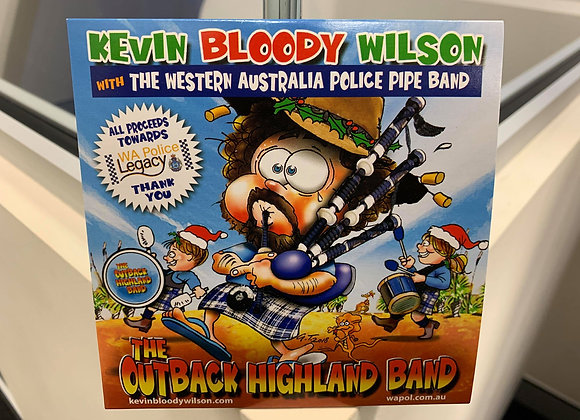 WAPOL Pipe band and Kevin Bloody Wilson Single CD