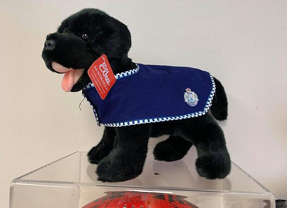 Black Labrador Police Dog