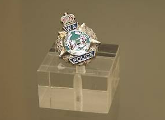 WA Police Logo Tie Pin