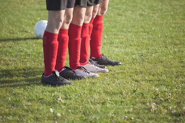 Voetbal spelers