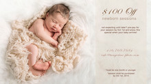 Tangerine Newborn Photo Session Special - $100 Off Newborn Specials until Oct 1st!