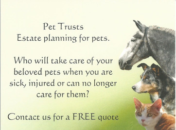 Coastline Legal is now featuring Pet Trusts to help statewide animal lovers make sure their pets are