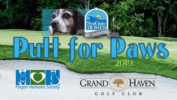 Flagler Humane Society - Putt for Paws event December 2, 2019