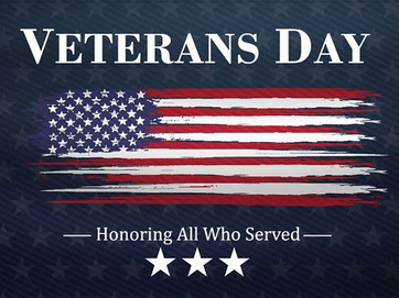 Honoring Veterans everywhere!