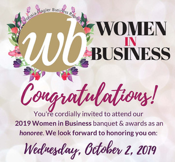 Shareholder Courtney will be recognized with a 2019 Women in Business award!