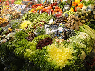 Only organic vegetables in Always Real Food's recipes