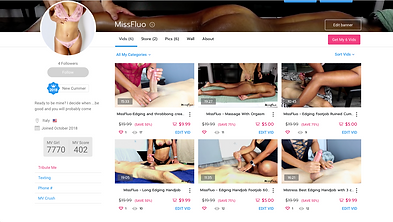 preview e link pagina ufficiale manyvids