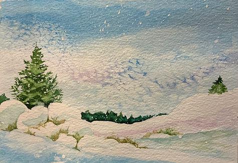 Christine Woodward - Christmas Card - Le