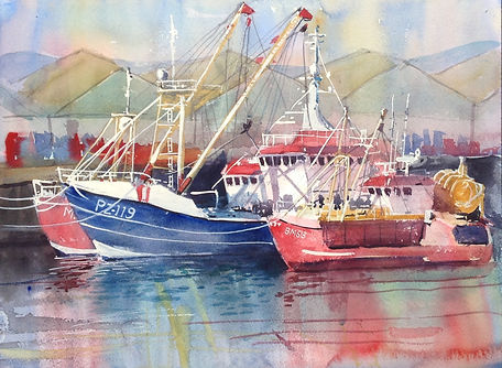 Fishing Boats in Brixham Harbour.jpg