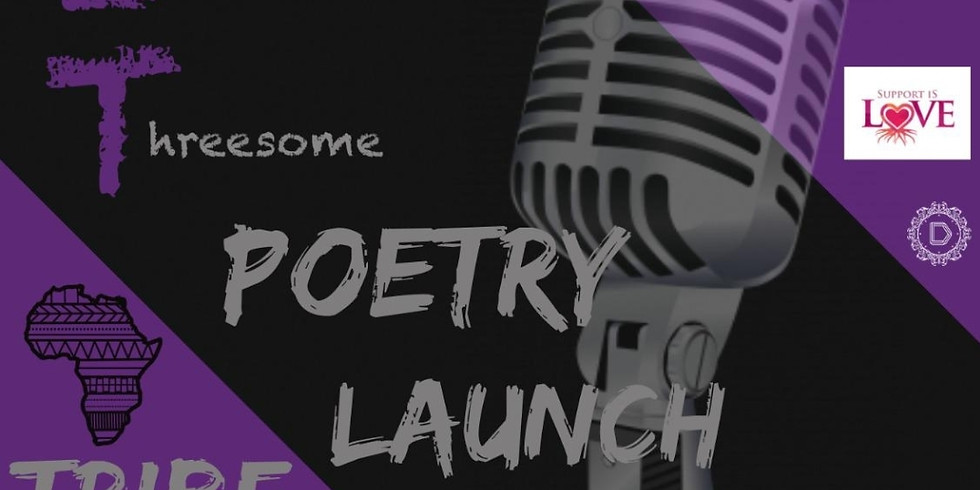 T.I.T The Inevitable Threesome Poetry Launch Night Hosted By Simalove