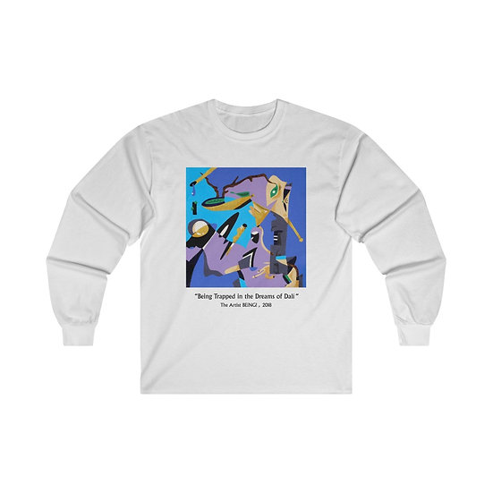 """"""" Being Trapped in the Dreams of Dali """" Print Long Sleeve i!"""