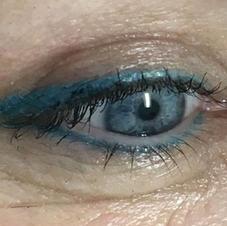 Teal Blue Winged Eyeliener