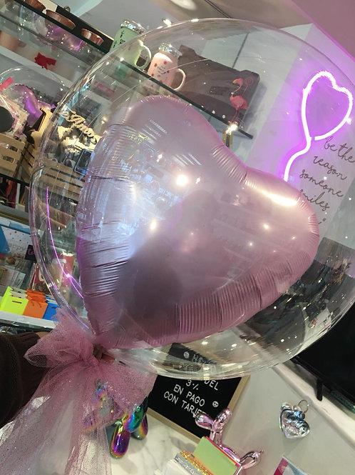 Heart in a bubble