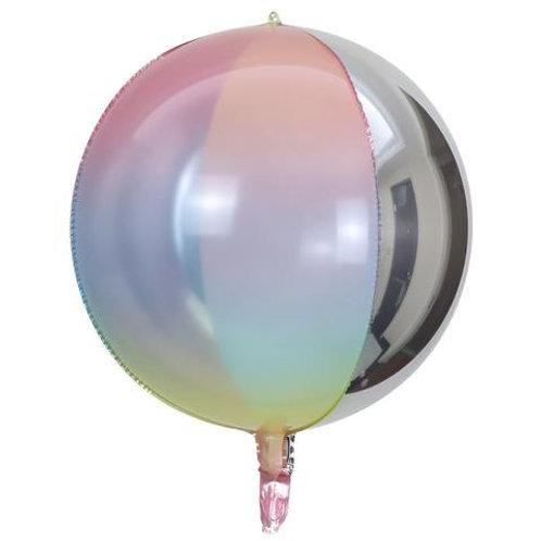 Esfera Rainbow Silver