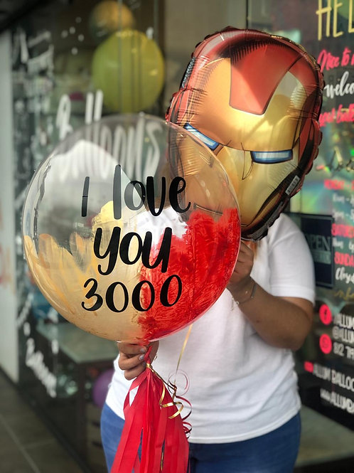 Bouquet Iron Man