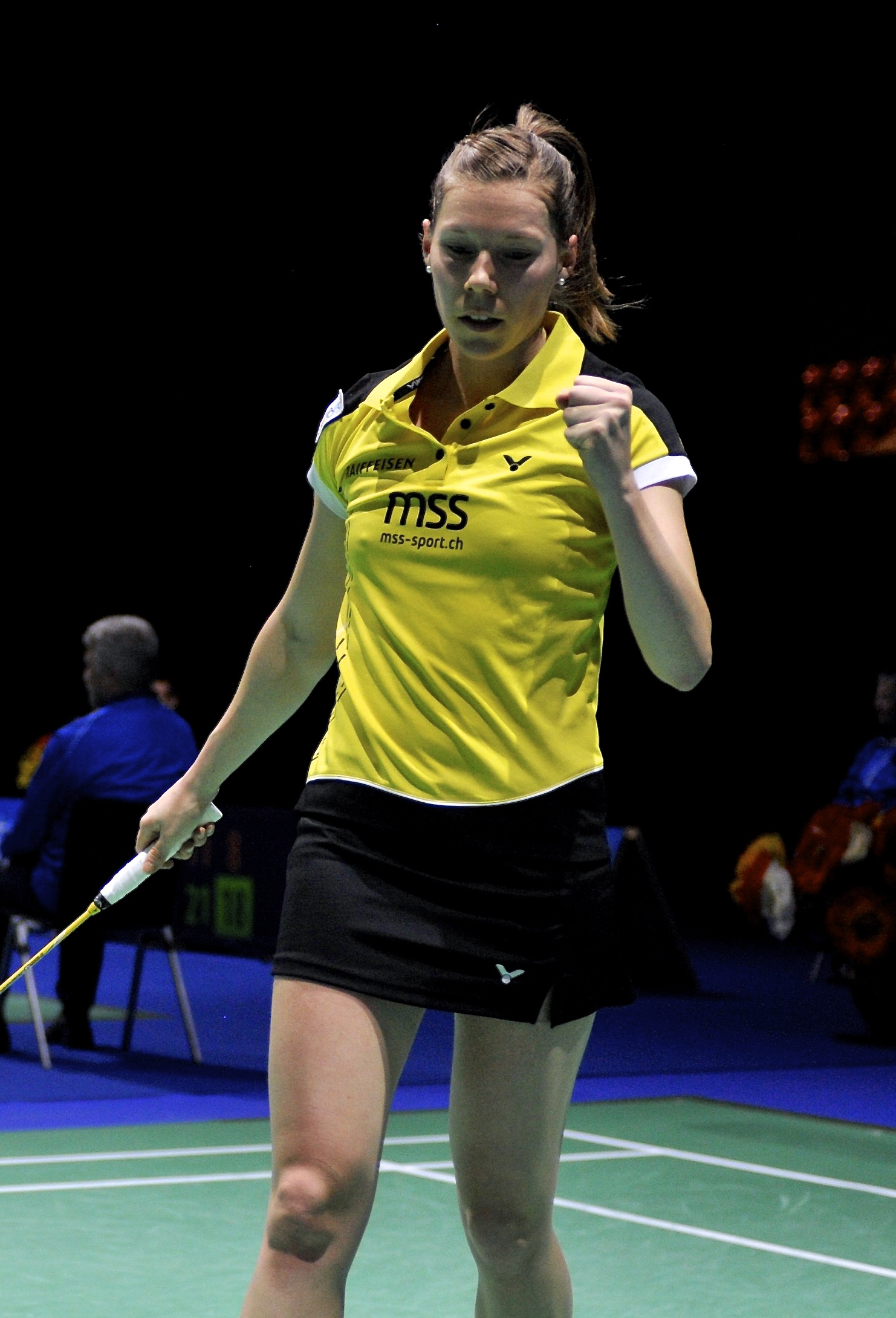 Nathalie Tardy, Swiss Open 2016 (simple dame)-5