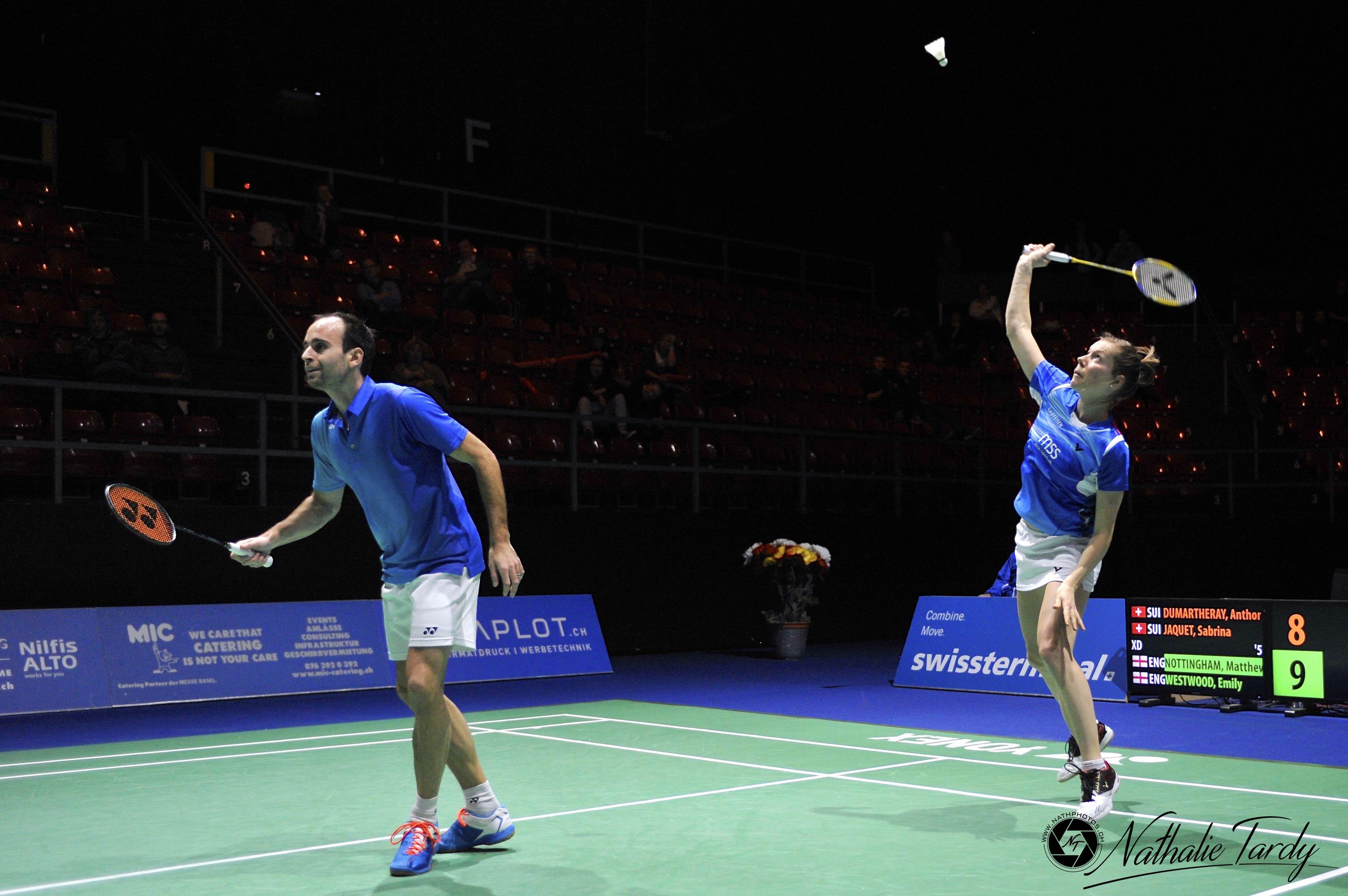 Nathalie Tardy, Swiss Open 2016 (double mixte)-2