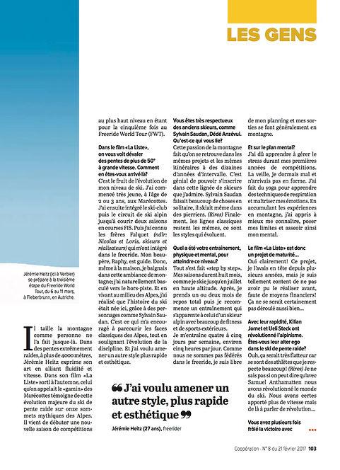 Coopération Interview Jérémie Heitz