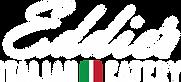 Eddies Italian Eatery - Logo2020 - white
