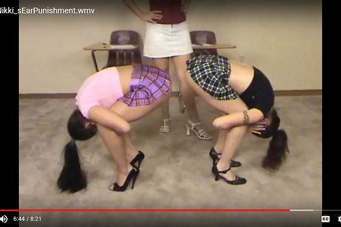Jade & Nikki Murga Punishment