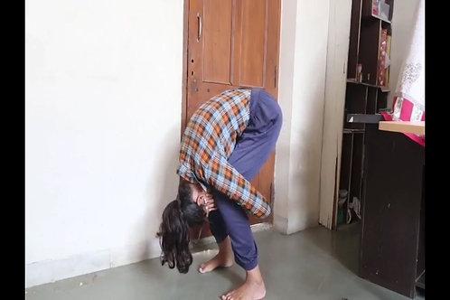 Aparna in Murga Position