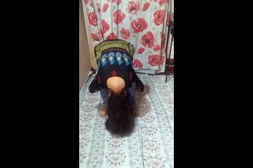 Deepti in Murga Position