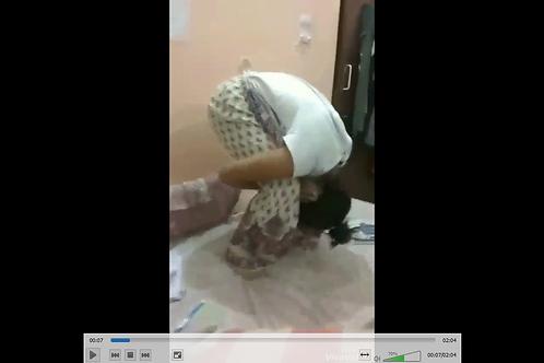 Murga punish in White Suit
