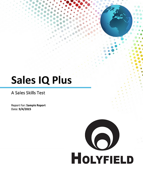 Sales IQ Assessment