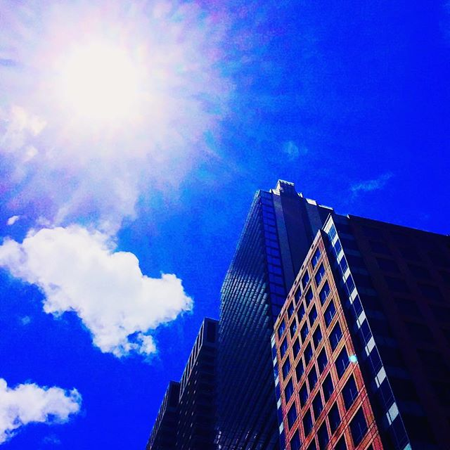 Sydney, a sunny day_#sky #australia #tourism #tourist #street #sydney #oz #cbd #cloud #sydneycbd